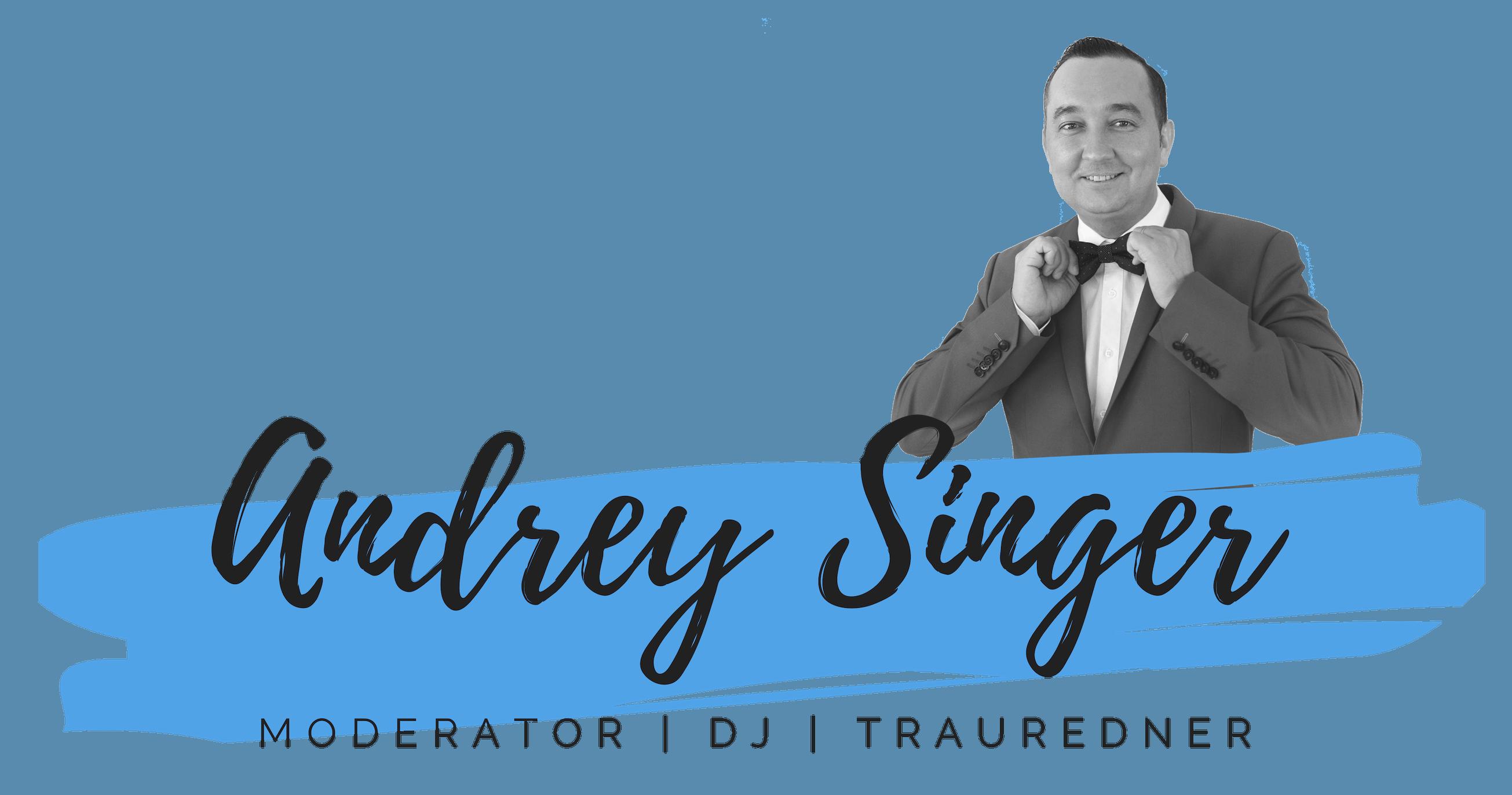 Andrey Singer - Tamada, Moderation, russischer DJ, russische Hochzeit, Hochzeitsmoderation, Band, Hochzeit, Trauredner
